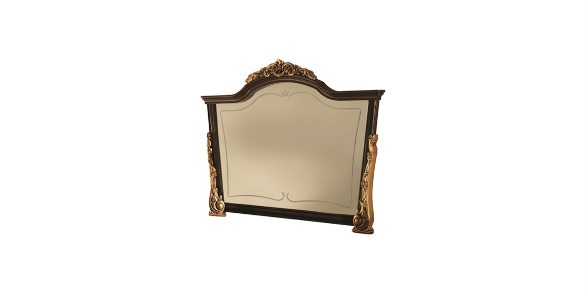 Wooden Mirrors Dining Room