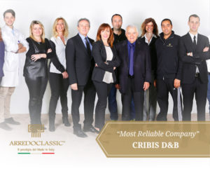 "Financial achievement: Cribis D&B ""Most Reliable Company"""