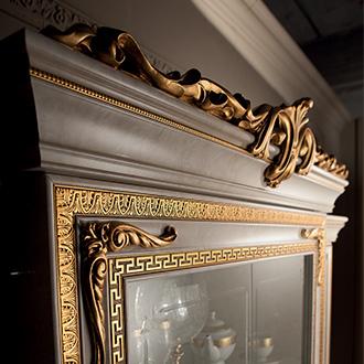 arredoclassic leonardo soggiorno cornice vetrina