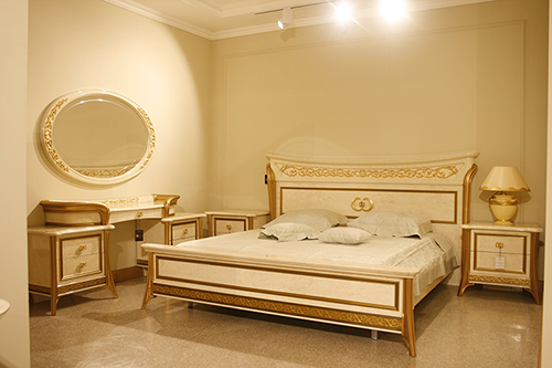 Arredoclassic collections in the new Niko showroom in Armenia
