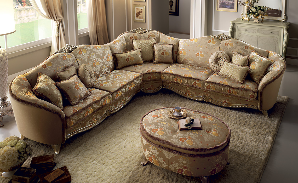 arredoclassic tiziano salotto divano angolare