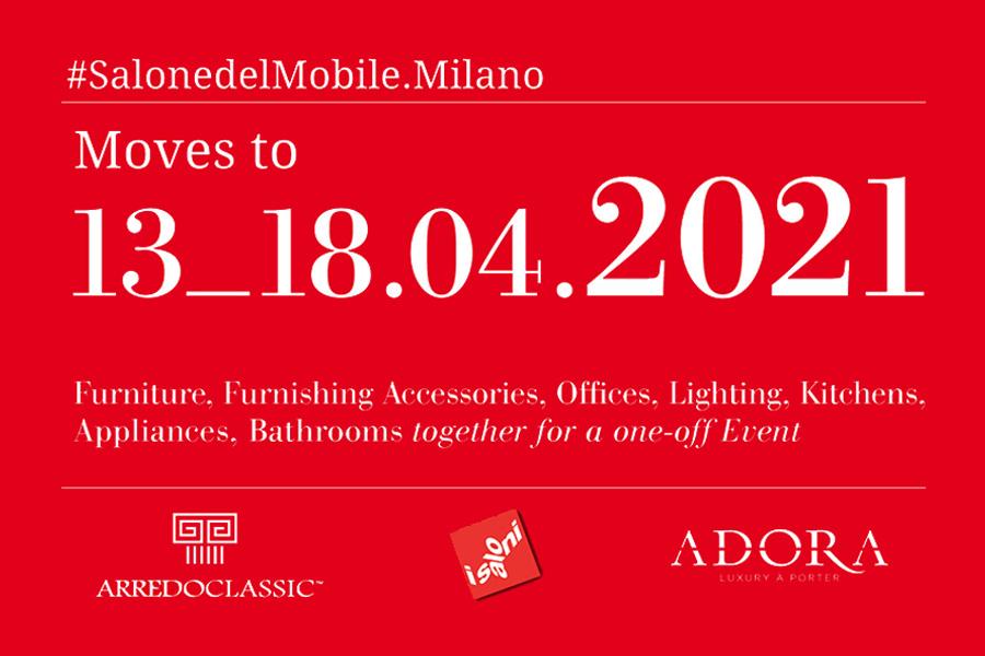 Salone del Mobile – Milano: Arredoclassic will see you in 2021